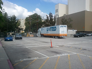 PALS left JPL by truck a little before 10:00 am on Friday April 27, beginning its journey by road to Grand Junction, Colorado.