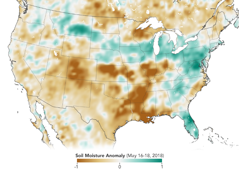 NASA Soil Moisture Data Advance Global Crop Forecasts – SMAP