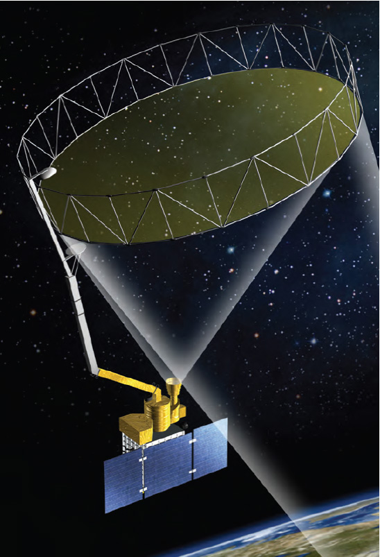 SMAP Large Antenna