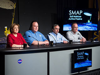 NASA Previews SMAP Launch