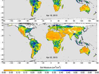 SMAP's Radiometer Captures Views of Global Soil Moisture